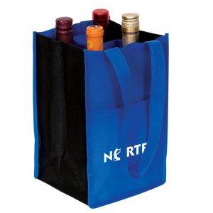 Non Woven Four Bottle Wine Bag