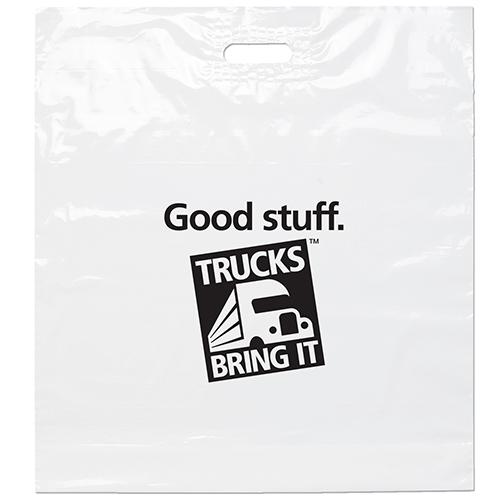 Die Cut Handle Bag 22x24x5