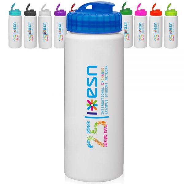 32oz HDPE Plastic Water Bottles