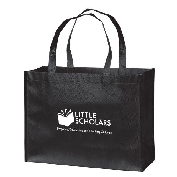 LN16612 Gloss Laminated Designer Tote Bag