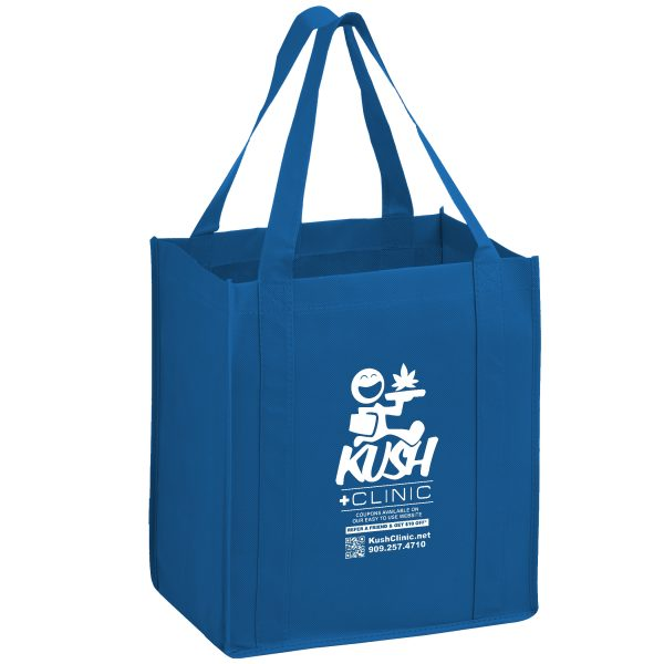 Y2KG131015 Heavy Duty Non Woven Grocery Tote Bag