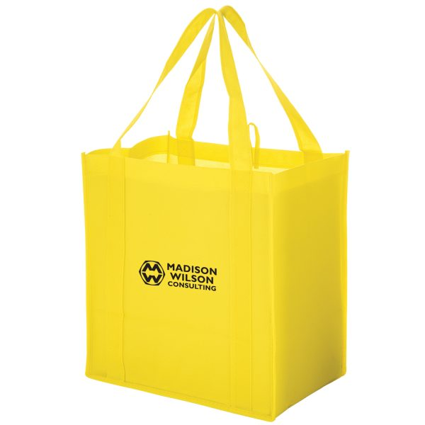 Heavy Duty Non Woven Grocery Tote Bag