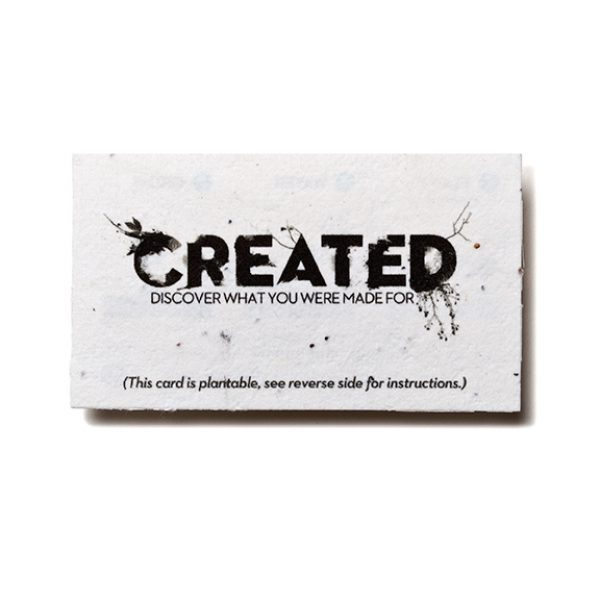 Seed Paper Business Card