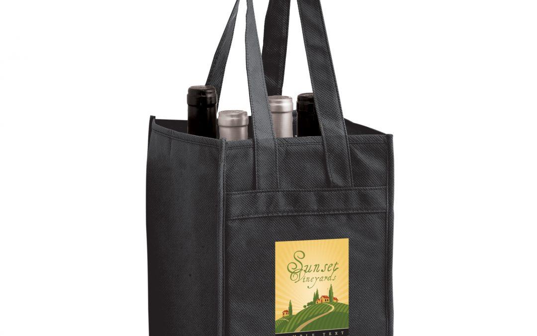 Eco Friendly Wine Tote Bags