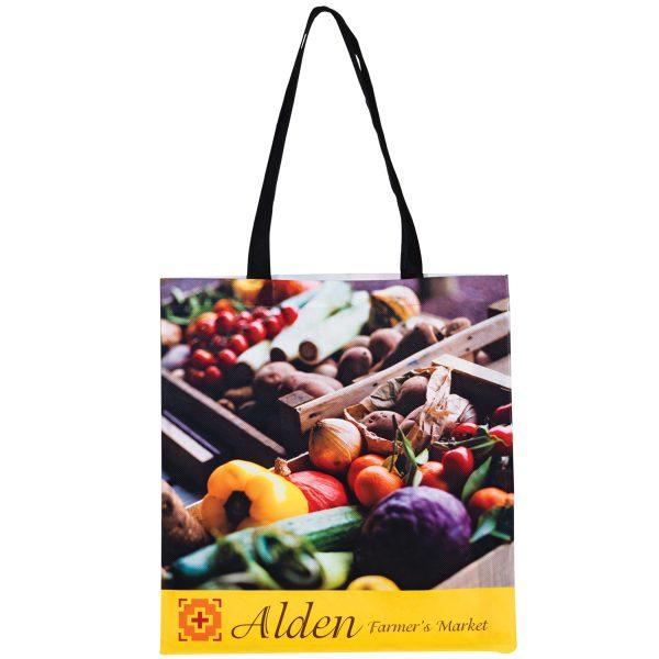 SUB1516 Dye Sublimation PET Non Woven Sublimated Tote Bag