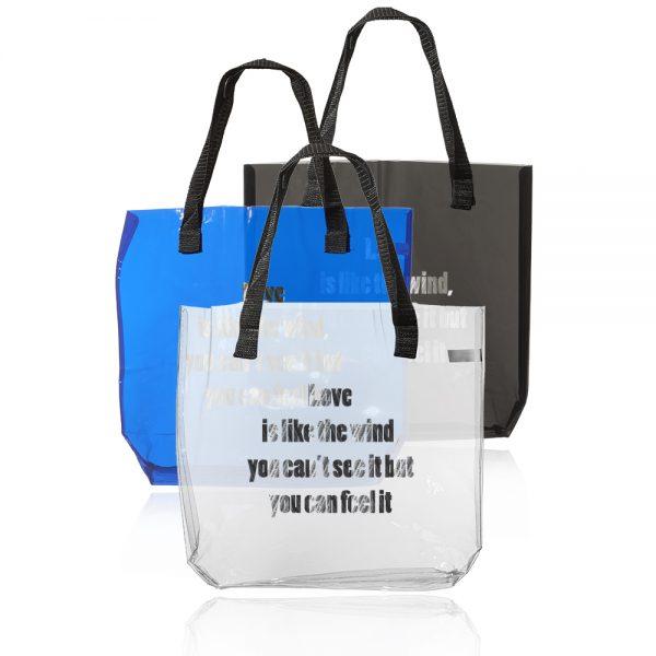 Savanna Clear Plastic Tote Bags ATOT259