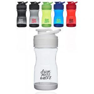 20 oz Brawny Plastic Water Bottles with Flip Lid AWB342