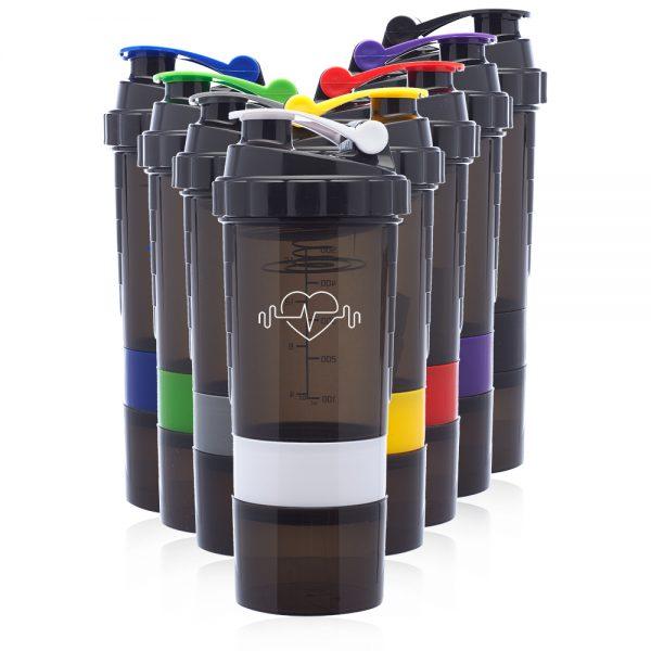 17 oz Smart Compartment Shaker Bottles ASHB09
